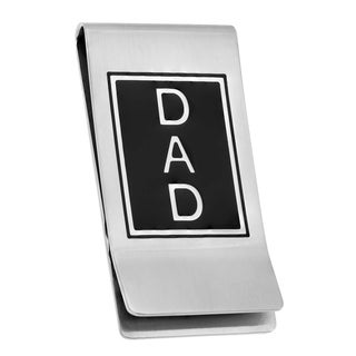 Stainless Steel DAD Money Clip