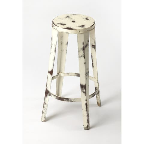 Butler Levant Rustic Industrial Counter Stool