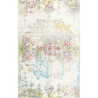 "Home Dynamix  Boho  Distressed Chic Area Rug (5'2"" x 7'2"") - 5'2""x7'2"""