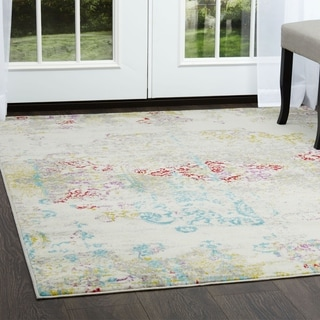 "Home Dynamix  Boho  Distressed Vintage Area Rug (7'9"" x 10'2"") - 7'9""x10'2"""