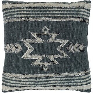 Narcisa Southwestern Charcoal Down or Poly Filled Throw Pillow 20 inch