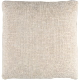 Glenavy Traditional Cream Down or Poly Filled Throw Pillow 20 inch
