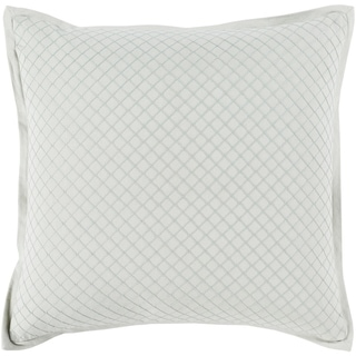 Sandra Geometric Mint Feather Down or Poly Filled Throw Pillow 20-inch