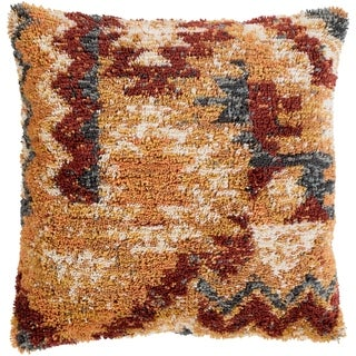 Elias Southwestern Mustard Down or Poly Filled Throw Pillow 20 inch (3 options available)