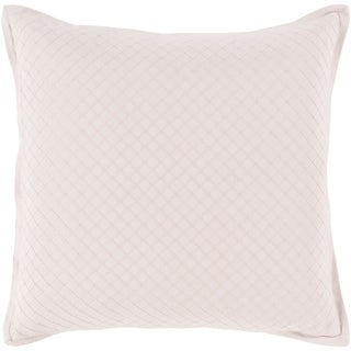 Sandra Geometric Blush Feather Down or Poly Filled Throw Pillow 18-inch