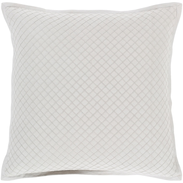 Sandra Geometric Sea Foam Feather Down or Poly Filled Throw Pillow 20-inch