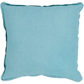 Sterling Classic Aqua Down or Poly Filled Throw Pillow 18 inch