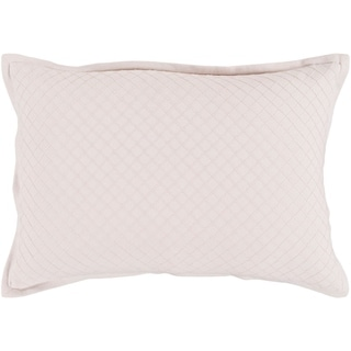 Sandra Geometric Blush Down or Poly Filled Throw Pillow 13 inch x 19 inch