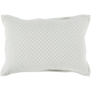 Sandra Geometric Mint Feather Down or Poly Filled Throw Pillow 13 inch x 19 inch