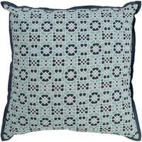 Nadica Geometric Navy 20-inch Throw Pillow