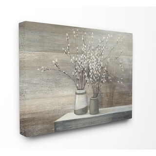 Willow Still Life Stretched Canvas Wall Art (3 options available)