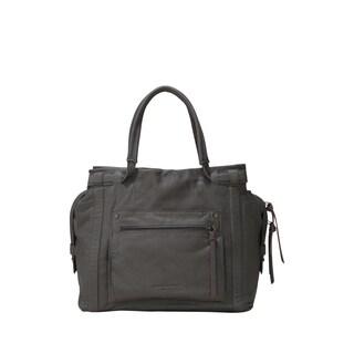 Liebeskind Berlin Virginia Sporty Leather Satchel Handbag
