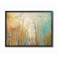 Watercolor November Framed Giclee Texture Art