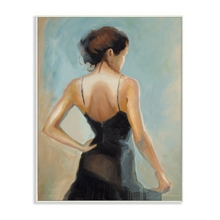 The Dancer Portrait Wall Plaque Art