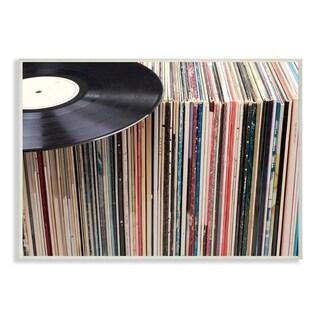 Vintage Records Display Wall Plaque Art