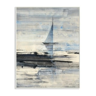 Abstract Sailing Wall Plaque Art (2 options available)