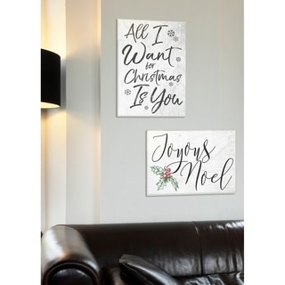 All I Want For Christmas Is You Wall Plaque Art