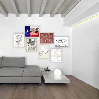 Home Grown Music Texas Wall Plaque Art