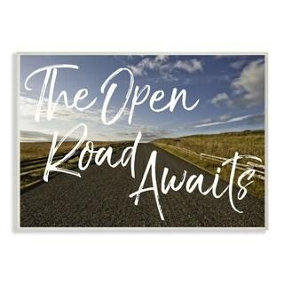 The Open Road Awaits Desert Wall Plaque Art