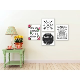 Arrows To Home and Heart Wall Plaque Art