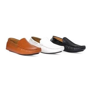 Miko Lotti Men's Slip-on Driver Shoes