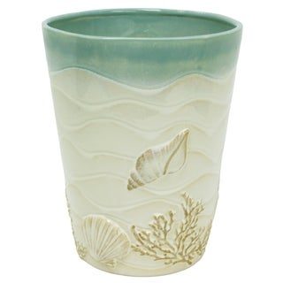 Coastal Moonlight Wastebasket by Bacova