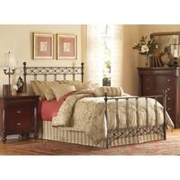 Fashion Bed Group Argyle Metal Bed in Copper Chrome Finish