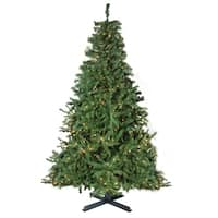 15' Pre-Lit 2-Tone Canadian Pine Commercial Artificial Christmas Tree - Warm White Lights