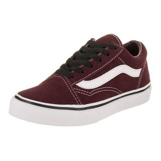 Vans Kids Old Skool (Suede) Skate Shoe