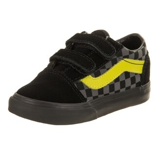 Vans Toddlers Old Skool V (Checkerboard) Skate Shoe