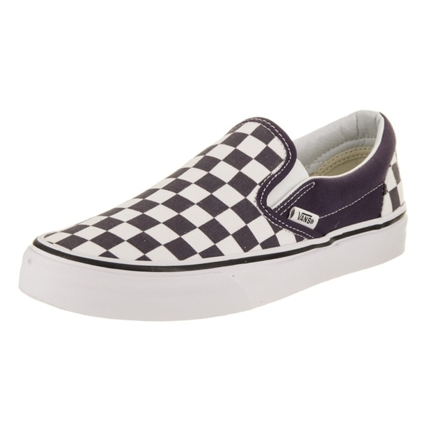 Shop Vans Unisex Classic Slip-On (Checkerboard) Skate Shoe - Free ... 353dce9e0