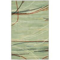 Mohawk Home Aurora Broken Stripe Area Rug (5'x8') - 5' x  8'