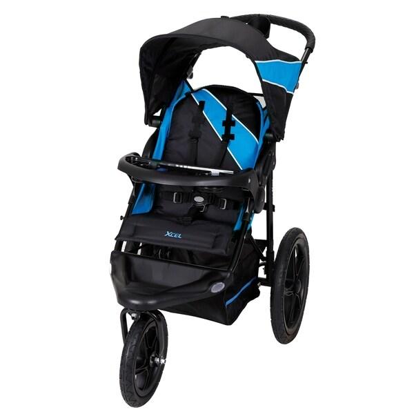 Baby Trend Xcel Jogger Stroller, Mosiac Blue 30135107