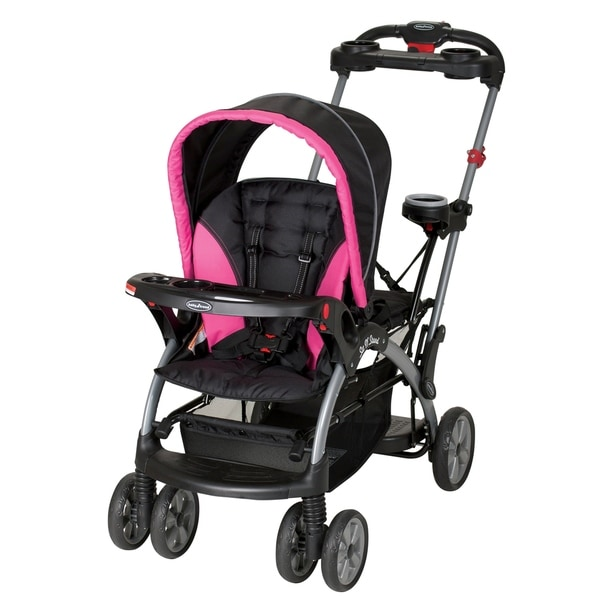 Baby Trend Sit N Stand Ultra Stroller,Bubble gum
