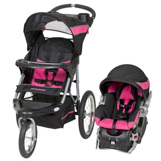 Baby Trend Expedition Jogger Travel System,Bubble Gum