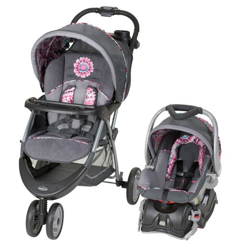 Baby Trend EZ Ride5 Travel System,Paisley