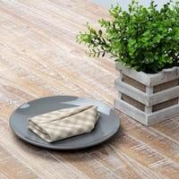 Farmhouse Tabletop Kitchen VHC Katie Napkin Set of 6 Cotton Check - 18x18