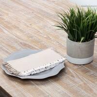 Farmhouse Tabletop Kitchen VHC Ashton Napkin Set of 6 Cotton Striped