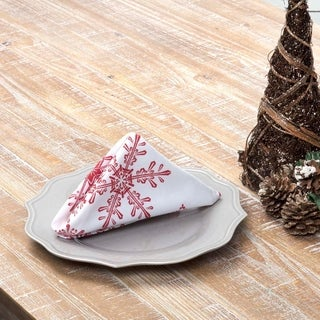 Snowflake Napkin Set of 6