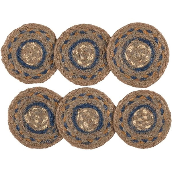 Riverstone Jute Coaster Set of 6