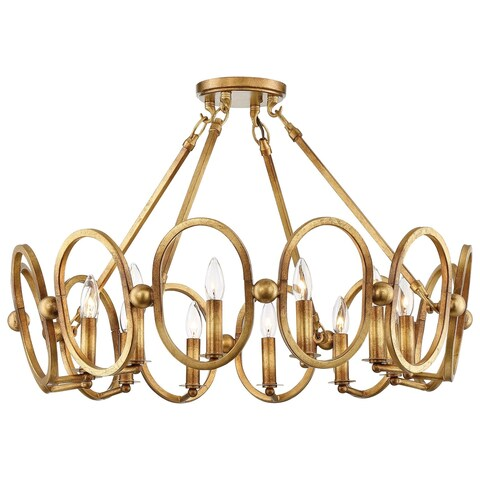 Minka Metropolitan 12 Light Semi Flush