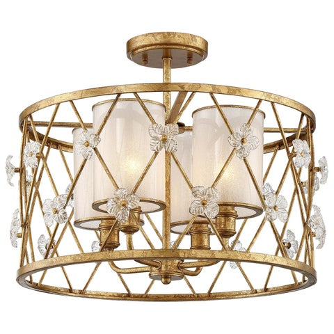 Minka Metropolitan 4 Light Semi Flush