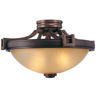 Minka Metropolitan Underscore 2-Light Semi Flush