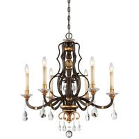 Minka Metropolitan Chateau Nobles 6 Light Chandelier