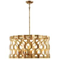 Minka Metropolitan Coronade 6 Light Pendant (Convertible To Semi-Flush)