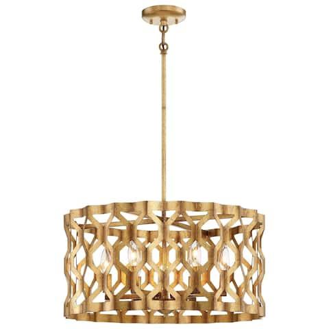 Minka Metropolitan Coronade 5 Light Pendant