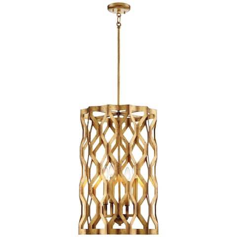 Minka Metropolitan Coronade 4 Light Pendant