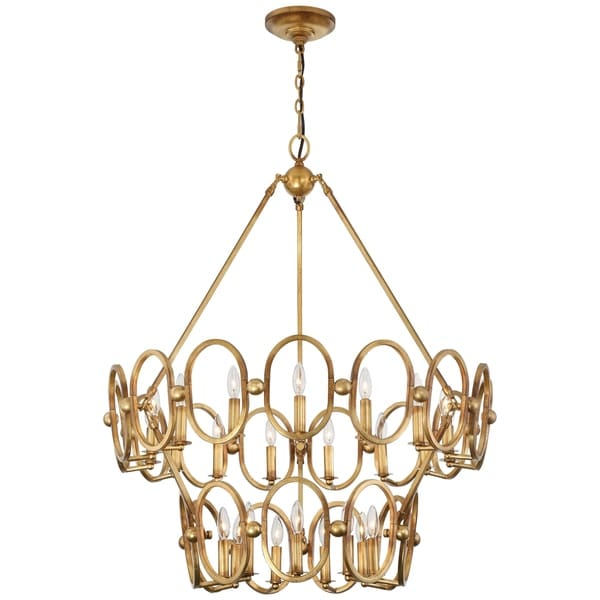 Minka Metropolitan Clairpointe Twenty Four Light Chandelier
