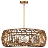 Minka Metropolitan Abbondanza Eight Light Chandelier