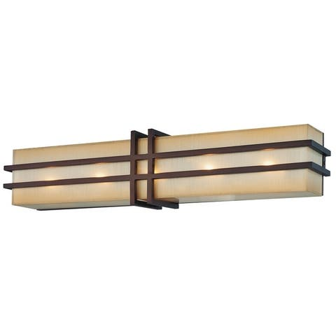 Underscore Collection Cimmaron Bronze 5 Light Bath by Minka Metropolitan